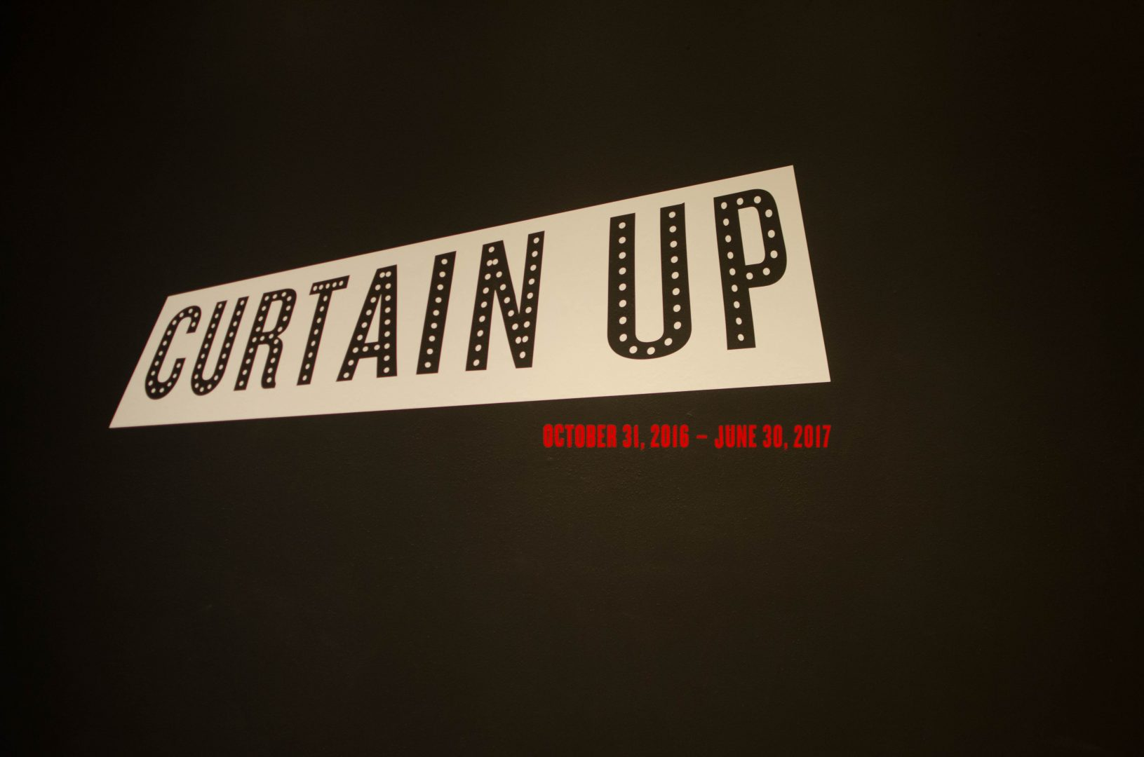 "Explore Theater's Best at NYPL's ""Curtain Up"" Exhibit"