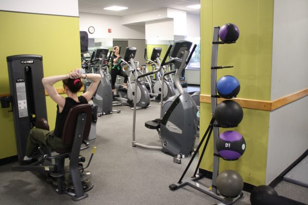 There are mixed opinions on the equipment in the McMahon gym. (BROOKE PARRETT/THE OBSERVER)