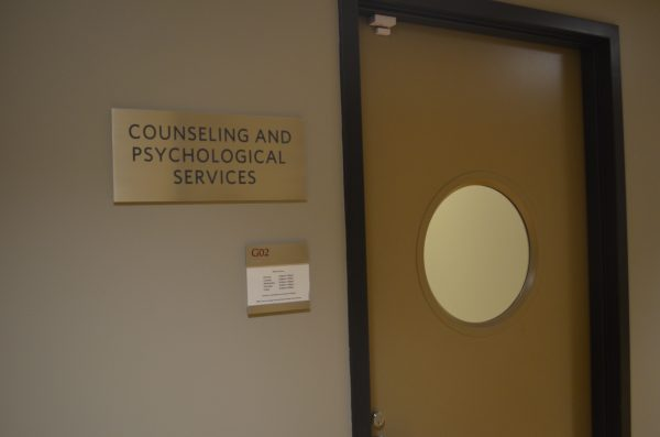 The Counseling & Psychological Services office is open Mondays - Thursdays from 9 a.m. - 7 p.m. and Fridays from 9 a.m. - 5 p.m. (ELIZABETH LANDRY/THE OBSERVER)
