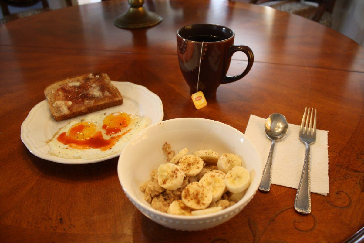 A balanced breakfast is crucial for having sustainable energy throughout the day. (BROOKE PARRETT/THE OBSERVER)