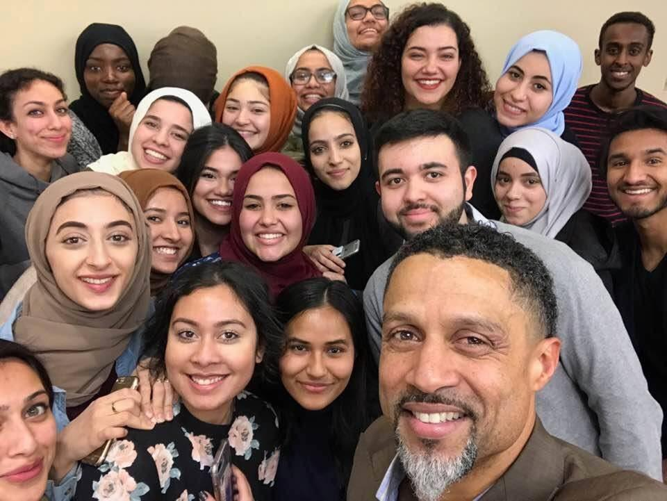 Mahmoud Abdul-Rauf spoke at an event hosted by the MSA. (COURTESY OF MSA/FACEBOOK)