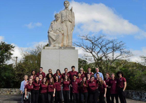 During Fordham's 2017 Spring break, members of the University Choir traveled to Puerto Rico (KYLE J. KILKENNY/The Observer).