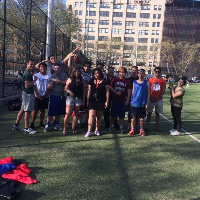 B.U.F.F.F looks to add a new dimension to the presence of sports on the Lincoln Center campus. (PHOTO COURTESY OF B.U.F.F.F)
