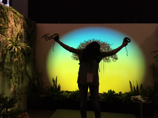The incredible virtual reality displays such as