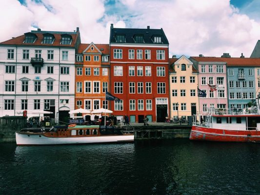The colorful houses of Nyhaven in Copenhagen. (MIRANDA POWERS/ THE OBSERVER)