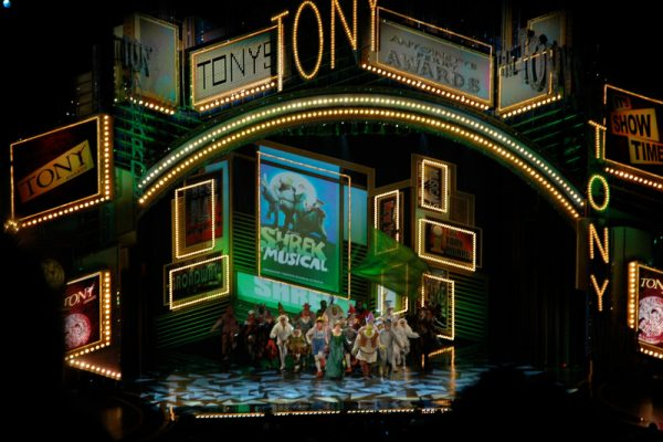 The 71st Annual Tony Awards returned to Radio City Music Hall this year, where they were also held in 2009, pictured above. (Aaron Uhrmacher via Flickr)