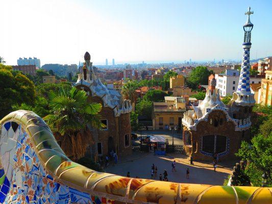 The vibrant colors of Park Güell in Barcelona. (DEIRDRE MCGRATH/THE OBSERVER)