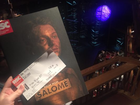Oscar Wildes Salomé can be seen in Stratford-upon-Avon at the Royal Shakespeare Companys Swan Theatre until Sept. 6.  (IZZI DUPREY/ THE OBSERVER)