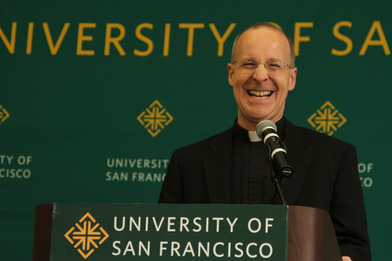 Fr. James Martin will present about his new book at Fordham this month. (COURTESY OF SHAWN CALHOUN VIA FLICKR)