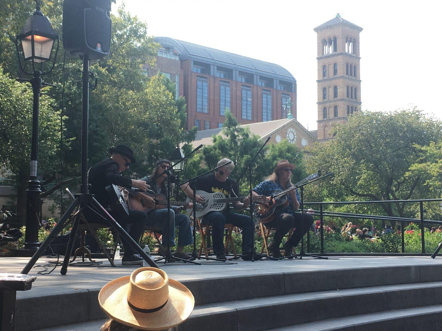 Washington Square Park Folk Festival Spans Generations