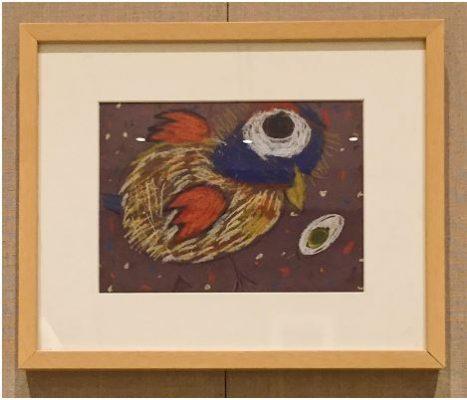 Bird by Arianna Caba, Age 4, Pre-Kindergarten (ALEJANDRA GARCÍA/THE OBSERVER)