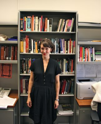 Shonni Enelow is a professor in Fordham's English department.  (JESS LUSZCZYK)