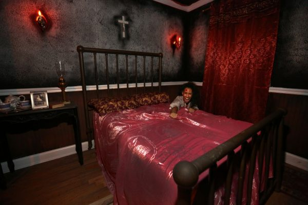 At Blood Manor, there will be surprises and frights around every corner.  (COURTESY OF JEFF EASON)