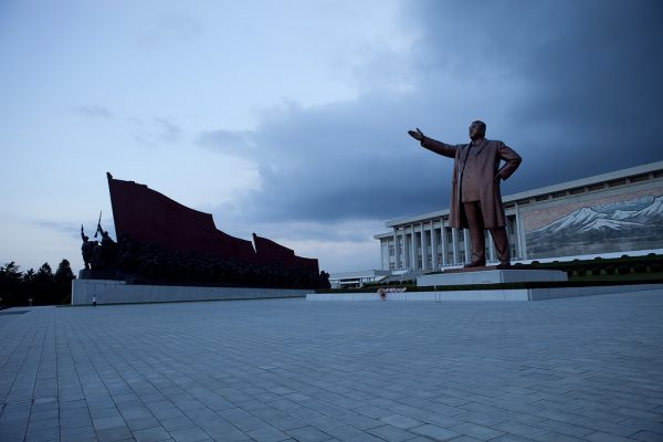North Korea has been ruled since its inception in 1948 by the Kim dynasty, beginning with Kim Il-sung, whose likeness is depicted in this statue. (ROMAN HARAK VIA FLICKR)