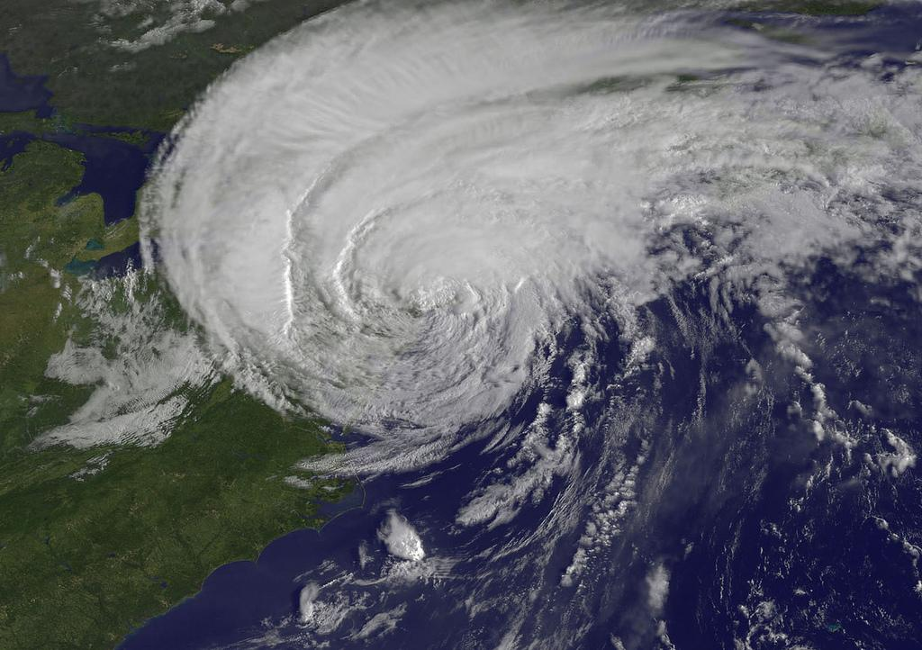 Hurricane Irene approaching New York in 2011. What if it happened again? (NASA/NOAA GOES PROJECT VIA FLICKR)