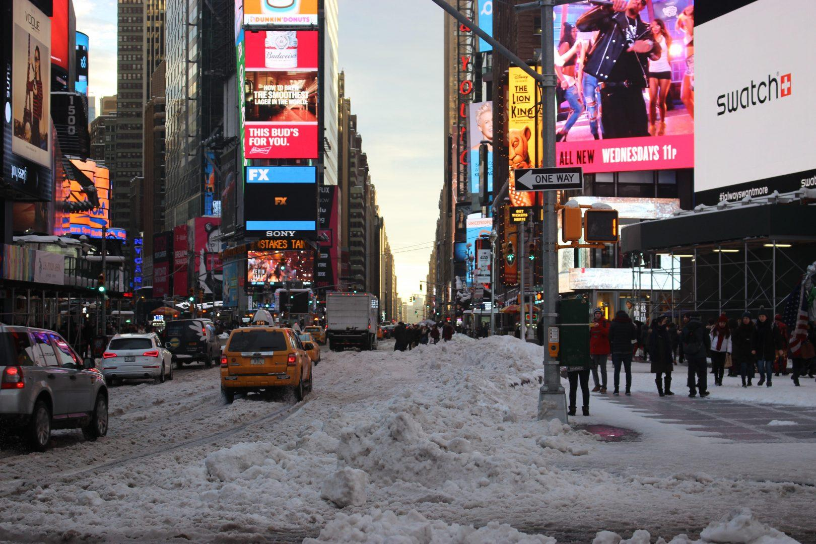 """Earlier this month, a """"bomb cyclone"""" swept through New York City. (REGINA OREA/THE OBSERVER)"""