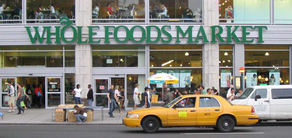 Whole Foods at Columbus Circle is popular among Fordham residents.(Courtesy of Aspersions via Flickr)