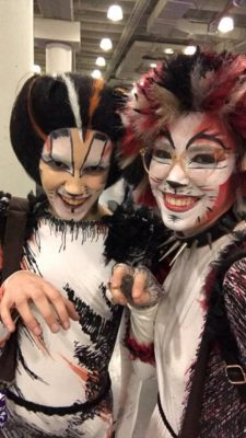 Cats cosplayers revel at BroadwayCon 2018. (COURTESY OF JULIANNE HOLMQUIST)