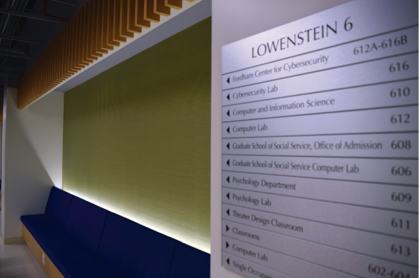 The green and blue hues seen throughout the new sixth floor of the Lowenstein building have been a major disappointment to loyal Rams.