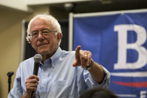 Sen. Bernie Sanders (I-VT) is often associated with the term radical. (PHIL ROEDER VIA FLICKR)
