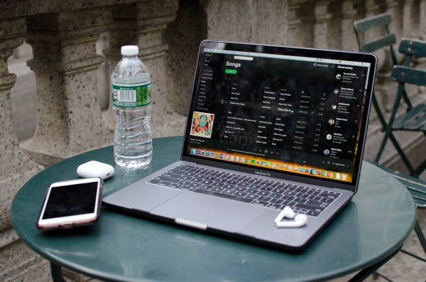 Spotify pays artists about $0.0039 every time one of their songs is streamed on its platform. (RASHMI SINGH/THE OBSERVER)