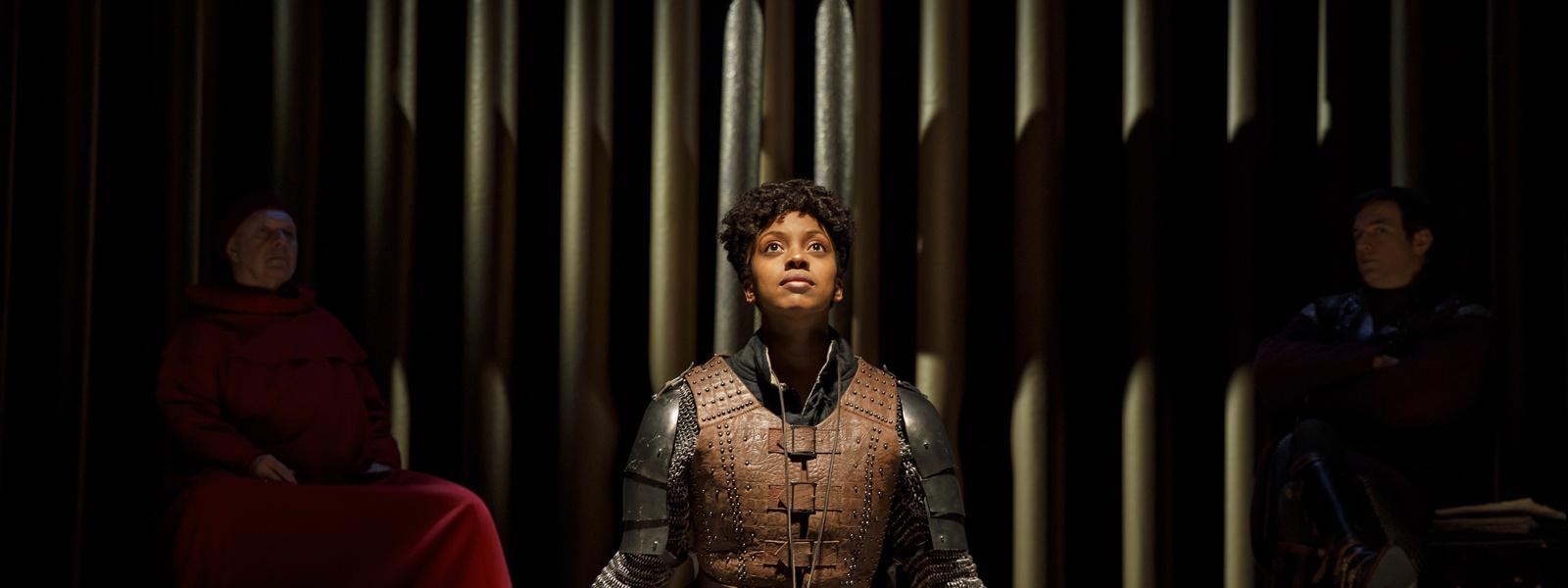 "Review: ""Saint Joan"" is Revived on Broadway; Condola Rashad Soars"