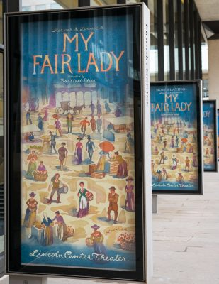 My Fair Lady at Lincoln Center Theatre offers $30 student discounted tickets at the box office the day of the performance. (ANDREW BEECHER/THE OBSERVER)
