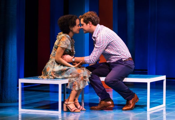 Lauren+Ridloff+and+Joshua+Jackson+in+%E2%80%9CChildren+of+a+Lesser+God%E2%80%9D+by+Mark+Medoff%2C+directed+by+Kenny+Leon+on+Broadway+at+Studio+54.+%28COURTESY+OF+MATTHEW+MURPHY%29