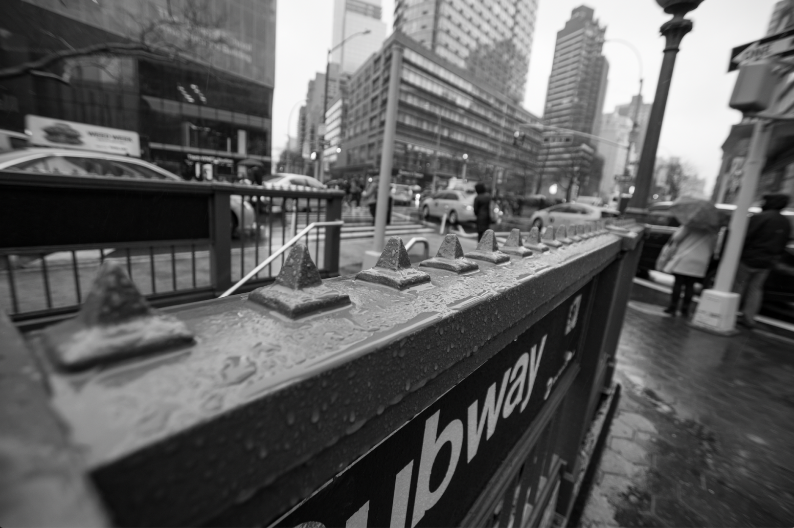 Hostile Architecture in New York City