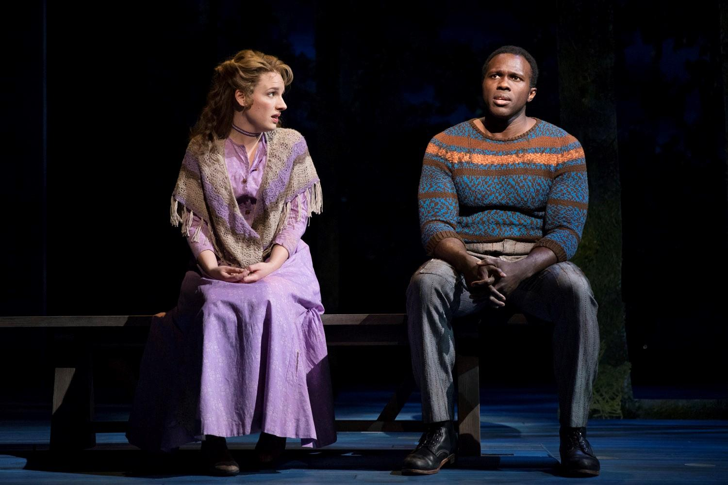 "Review: ""Carousel"" is Revived on Broadway, Ill-Timed and Ill-Equipped"