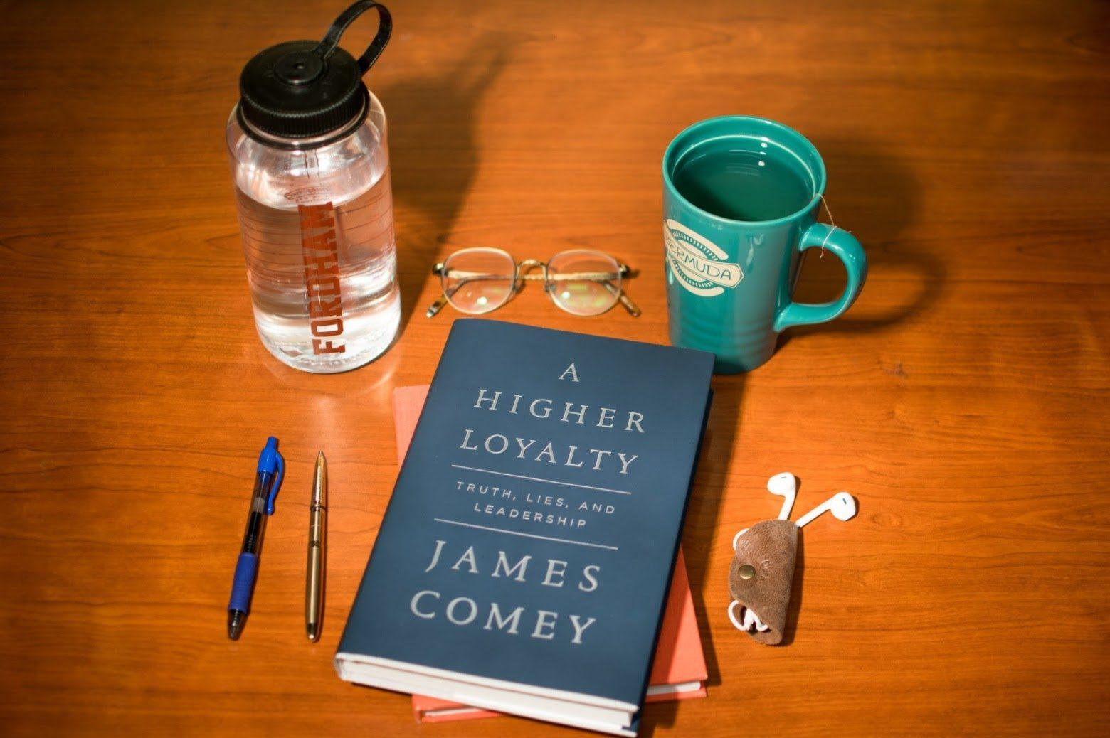 James Comey's new book reflects on his years as the director of the FBI. (ANDREW BEECHER/THE OBSERVER)