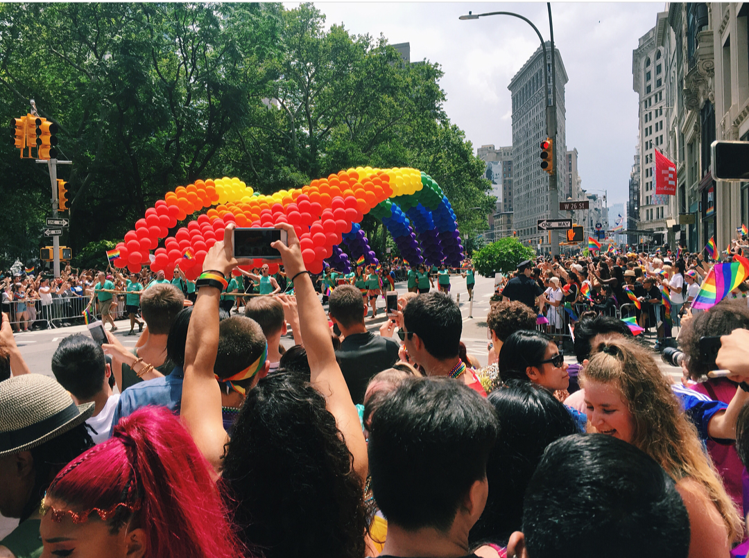 Fordham Students Celebrate Pride Month