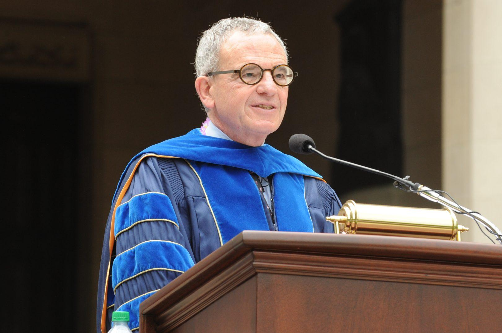 Freedman was appointed as provost, a newly-created position, in 2010. (COURTESY OF FORDHAM NEWS AND MEDIA RELATIONS)