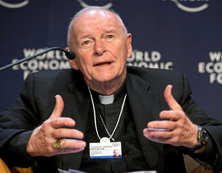 Fordham Rescinds Cardinal's Awards