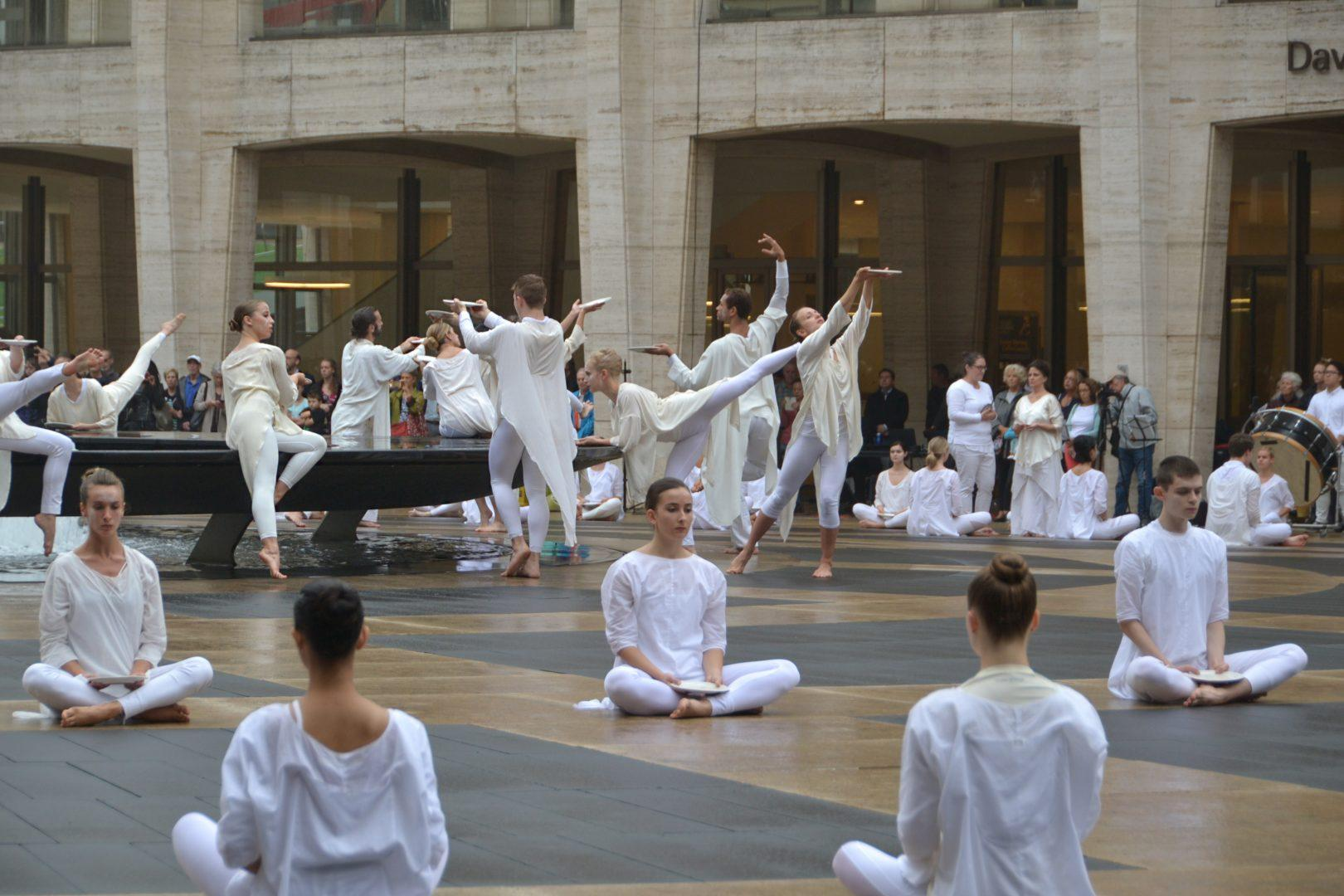 Dancers Bring NYC to a Pause on 9/11