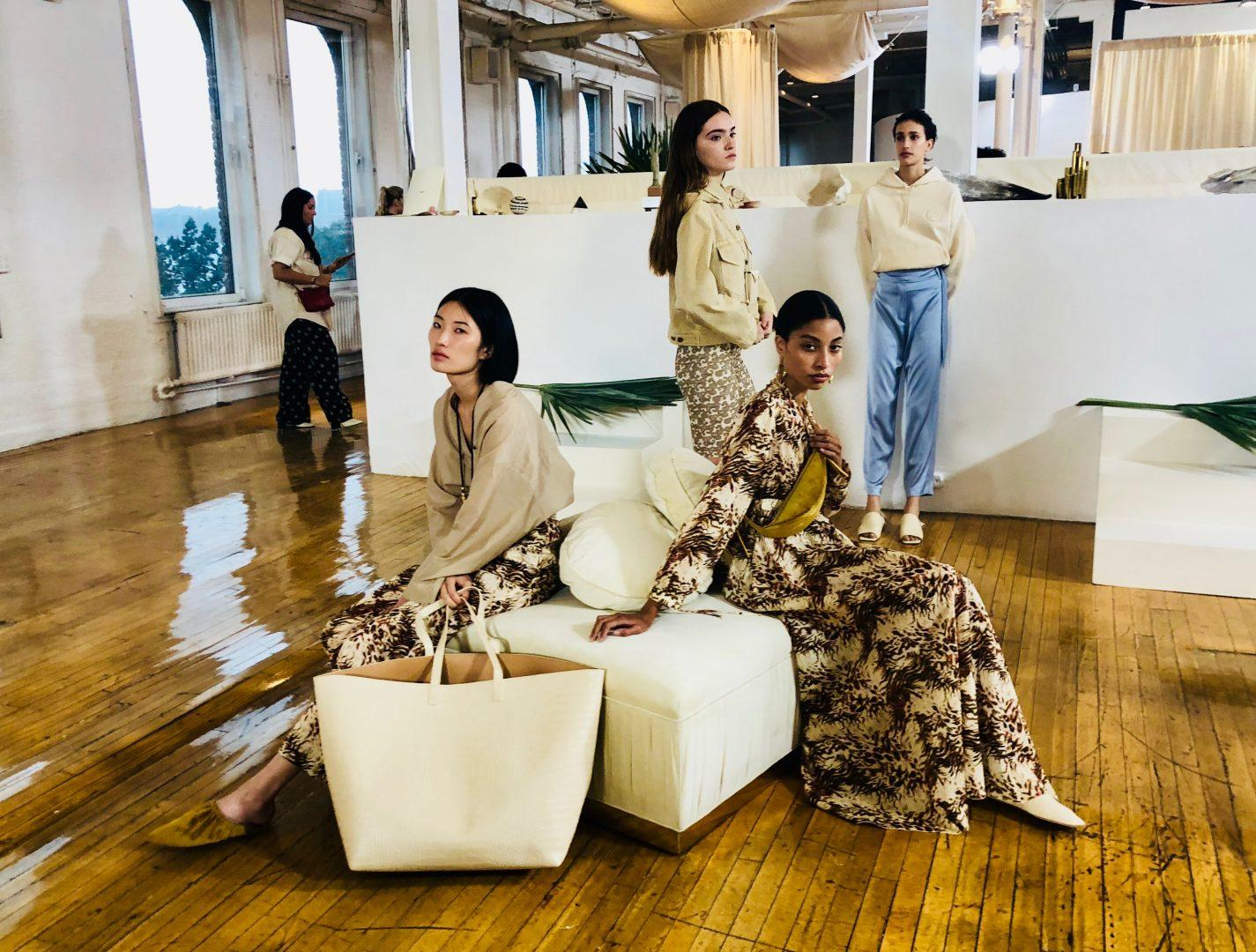 Students at Fordham College at Lincoln Center participated in NYFW as models, editors, influencers, and assistants. (COURTESY OF LAREINA SUN).