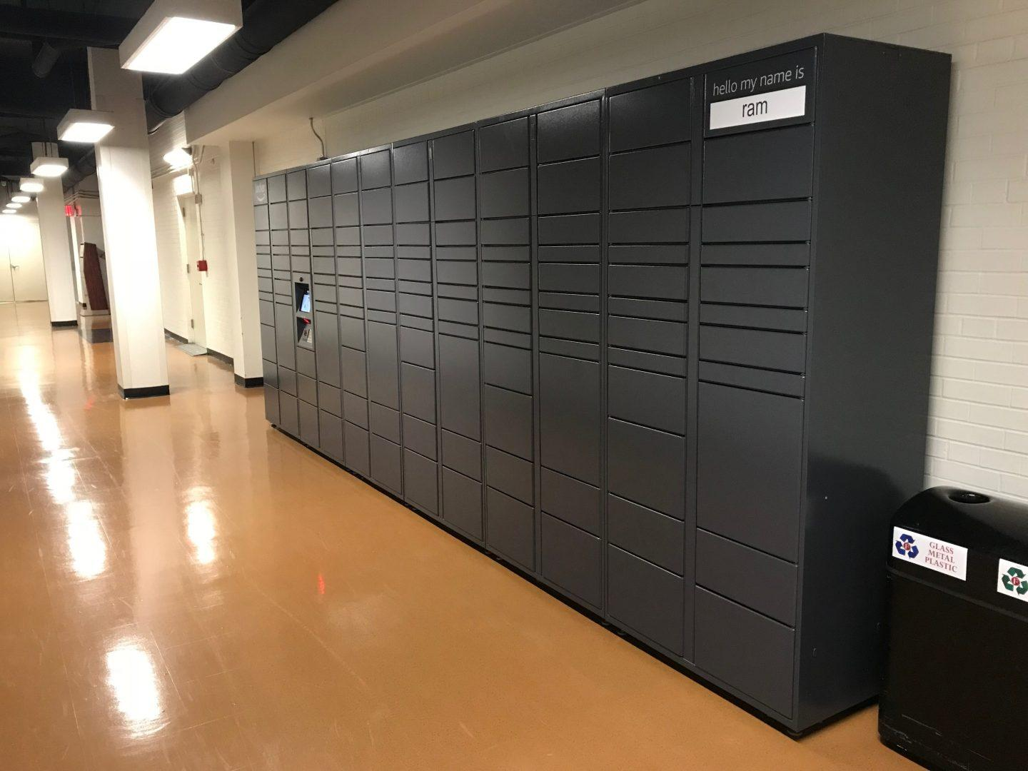 New Amazon lockers make picking up packages much easier. (LEO BERNABEI/THE OBSERVER)