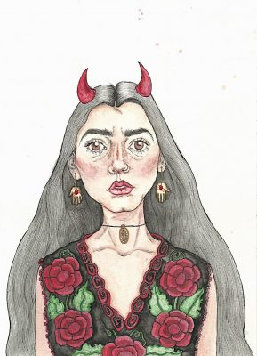 Diabla Santísima (ALEJANDRA GARCIA/THE OBSERVER)