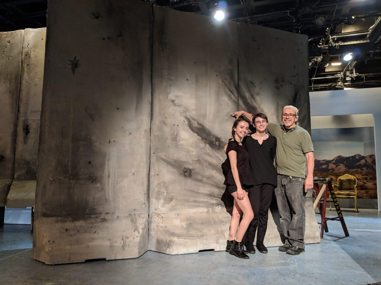 Inside a Fordham Mainstage Production Rehearsal: Antigonick