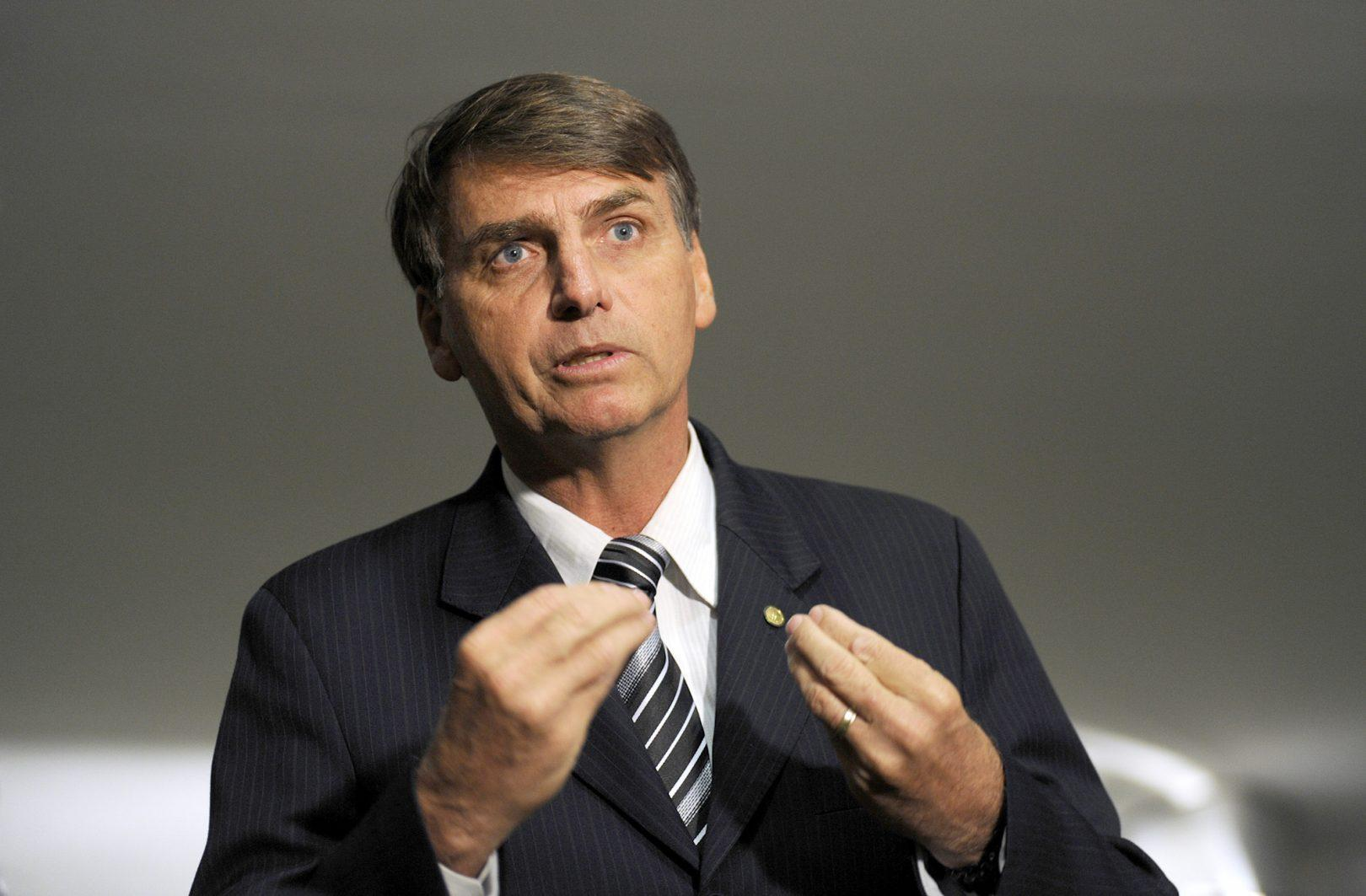 Bolsonaro promises an end  to crime in Brazil, and Brazilians may be ready to welcome it by any means necessary (JANINE MORAES/CHAMBER OF DEPUTIES OF BRAZIL VIA WIKIMEDIA COMMONS)