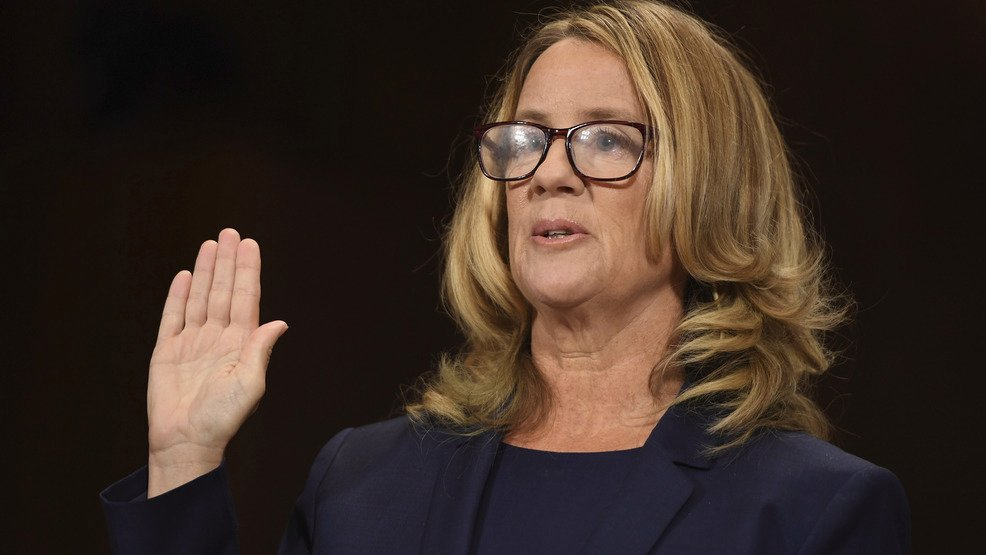 Dr. Christine Blasey Ford's bravery must not and will not be forgotten any time soon.