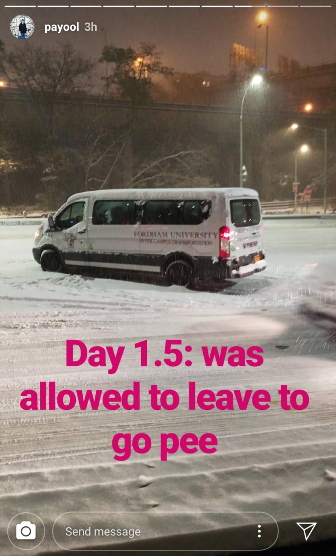 Ram+Van+Log+Jam%3A+Shuttles+Stranded+for+Hours+in+Snowstorm