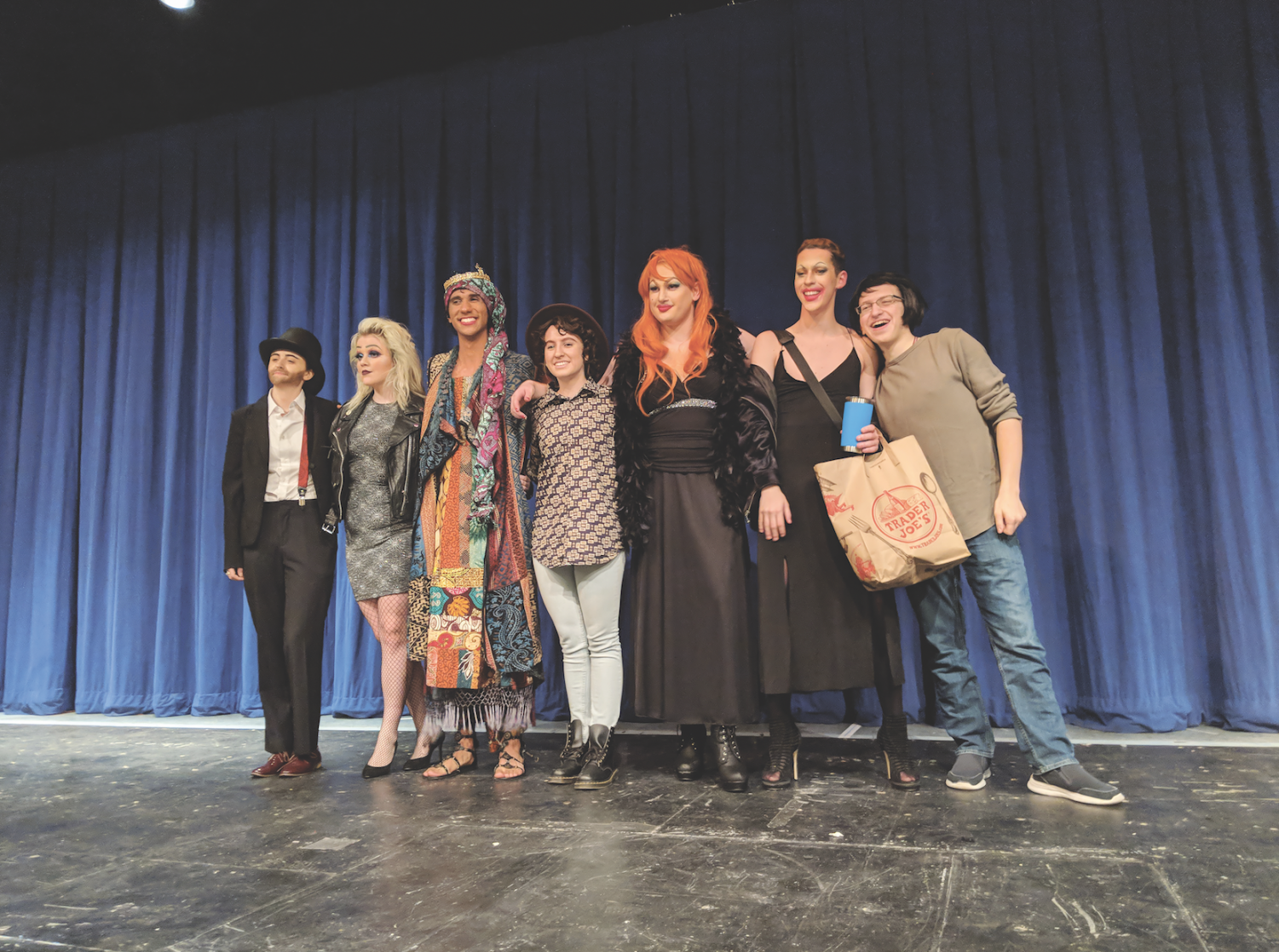 Fordham's first ever drag show was met with criticism from conservative forces outside the university. (COLIN SHEELEY/THE OBSERVER)