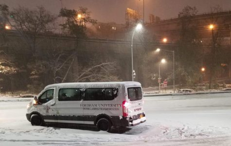 Paul Bury, Fordham College at Lincoln Center '19, was stranded on the Henry Hudson Parkway for around three hours.