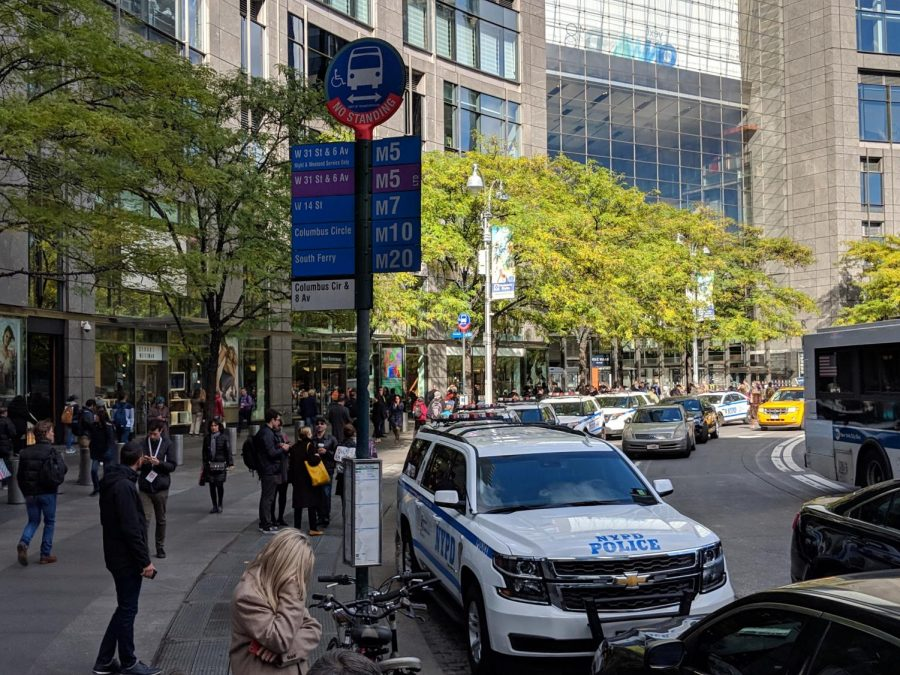 On Oct. 24, the Time Warner Center was evacuated after police were notified of a suspicious package in the building. They treated the package as an explosive device.