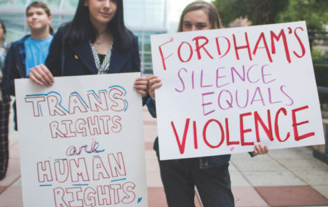 Fordham Students Rally To Support Trans Rights