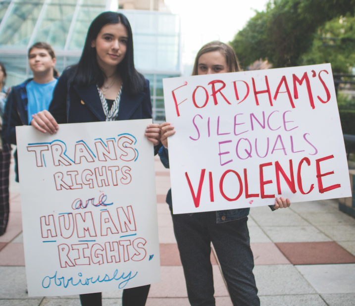 The matter of transgender rights at Fordham Lincoln Center (FLC) has long been a point of contention.