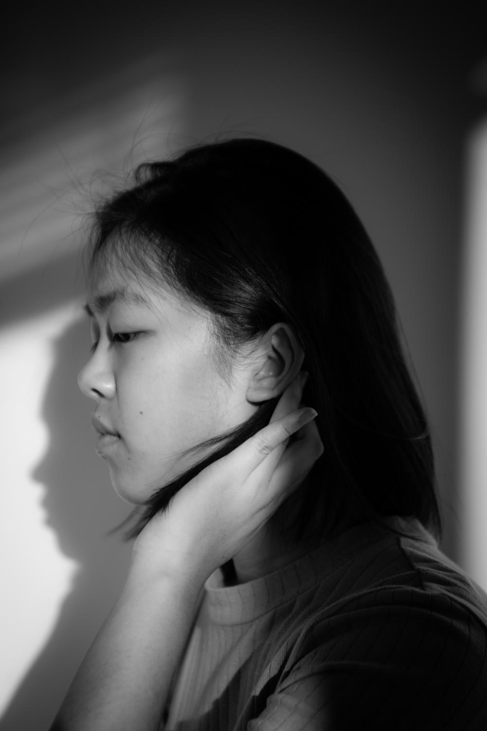 Writer Adriane Kong is deaf in one ear.