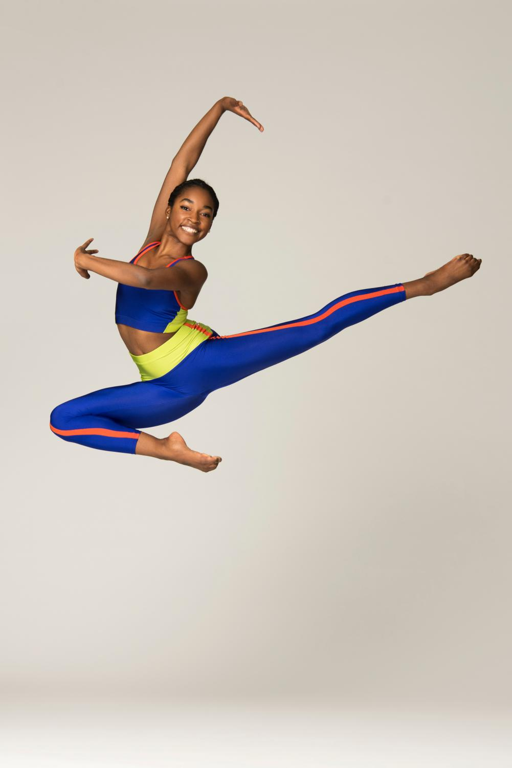 Ashley Simpson is an Ailey/Fordham B.F.A. dance major.