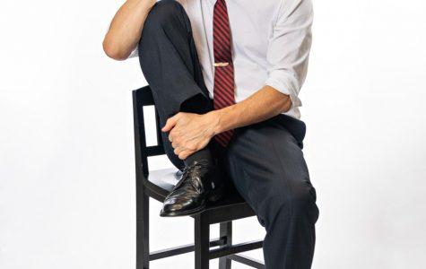 David Arrow confidently portrays Bobby Kennedy.